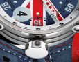 """A ticket to ride"" avec la montre BRM V6 et V7 Union Jack"
