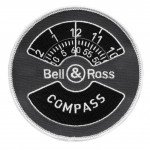 Bell and Ross instrument BR01-92 Compass - symbole brode
