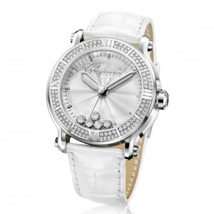 Montre de Luxe Chopard Happy Sport XL - Blanc