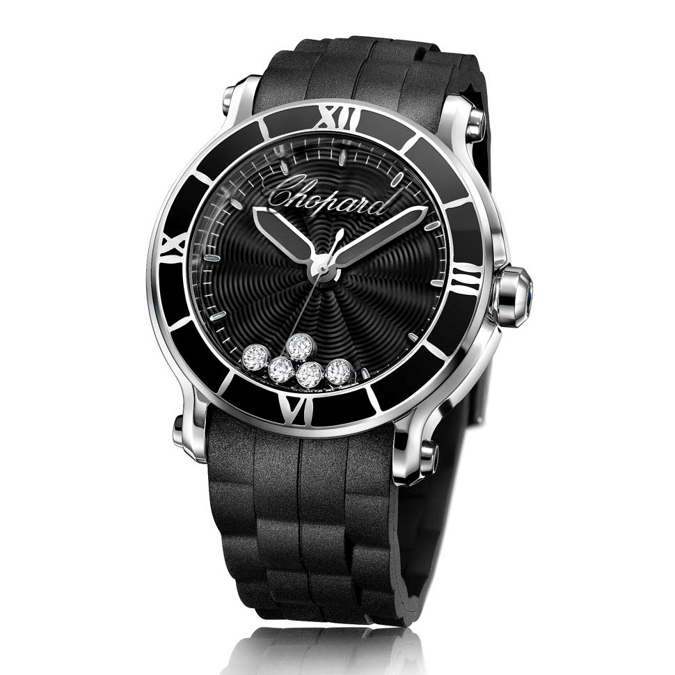 Montre de Luxe Chopard Happy Sport XL - Noir