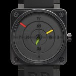 Bell & Ross aviation BR01-92 Radar Cadran