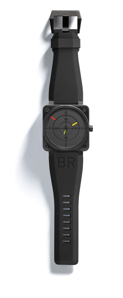 Montre d'aviateur Bell and Ross aviation BR01-92 Radar