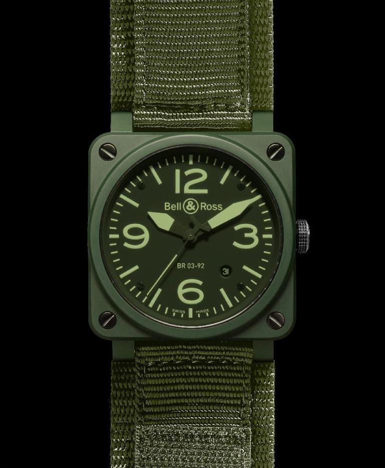Montre Bell and Ross BR 03-92 Military Ceramic