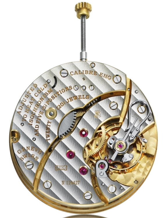 Montre LUC Louis-Ulysse Chopard : un hommage au savoir-faire horloger (The Tribute) : photo du mouvement de manufacture