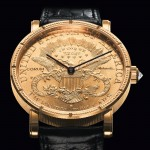 La montre Corum 20 dollars coin