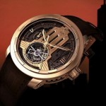 Dewitt Twenty-8-eight Regulator ASW Horizons : détail du mécanisme du tourbillon. Un design classique et intemporelle
