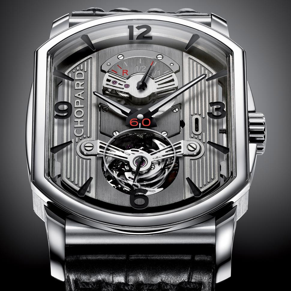 Chopard LUC Engine One Tourbillon : détail du cadran
