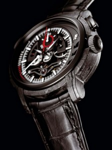 Audemars Piguet Millenary Carbon One : détail du cadran