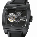 Corum T-Bridge Black Tourbillon