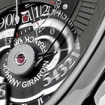la montre chronographe issue de l'imagination de Johnny Girardin et Franck Orny