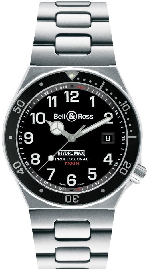 Montre de plongée Bell and Ross Hydromax