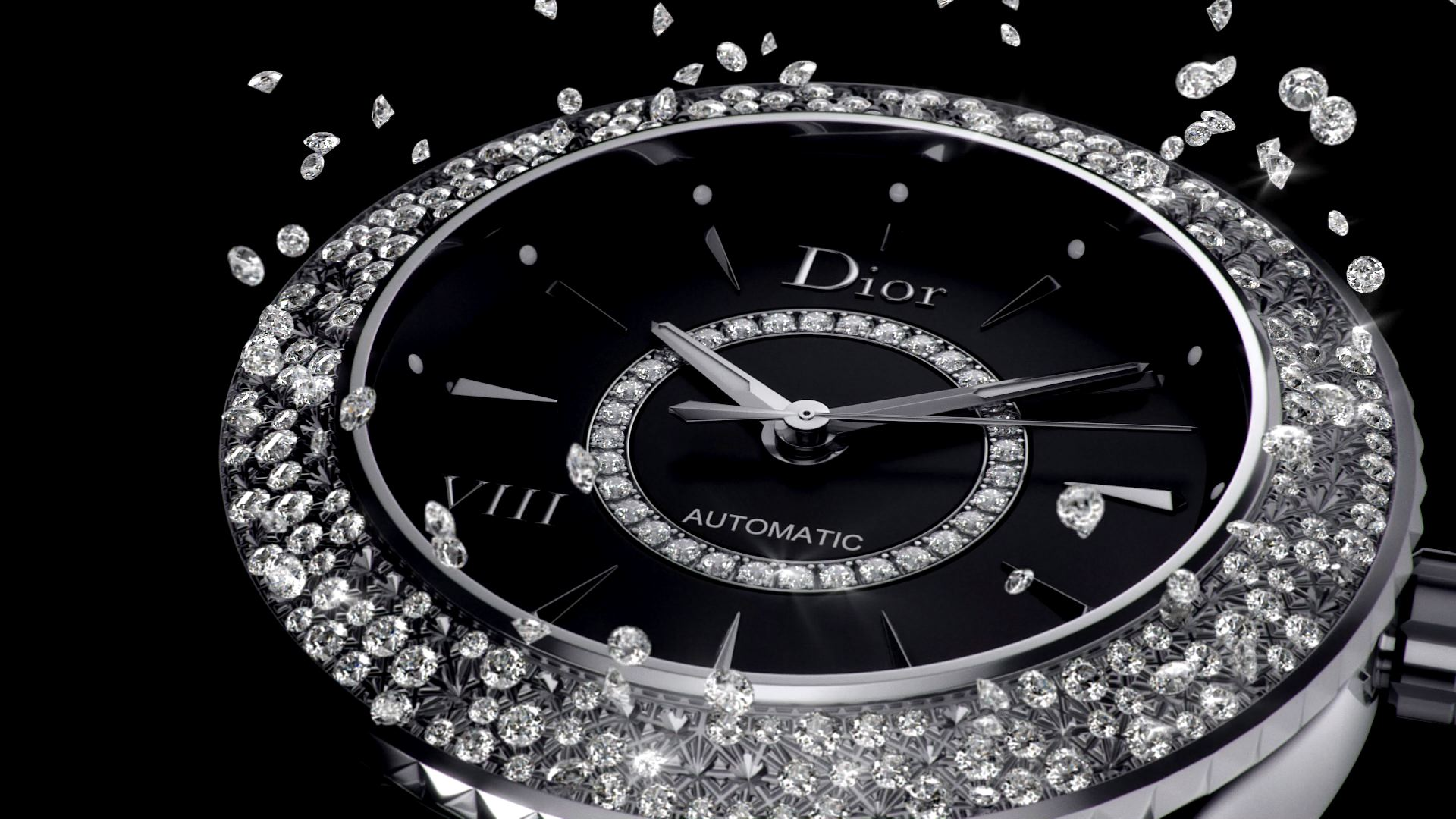 Dior VIII avec diamants