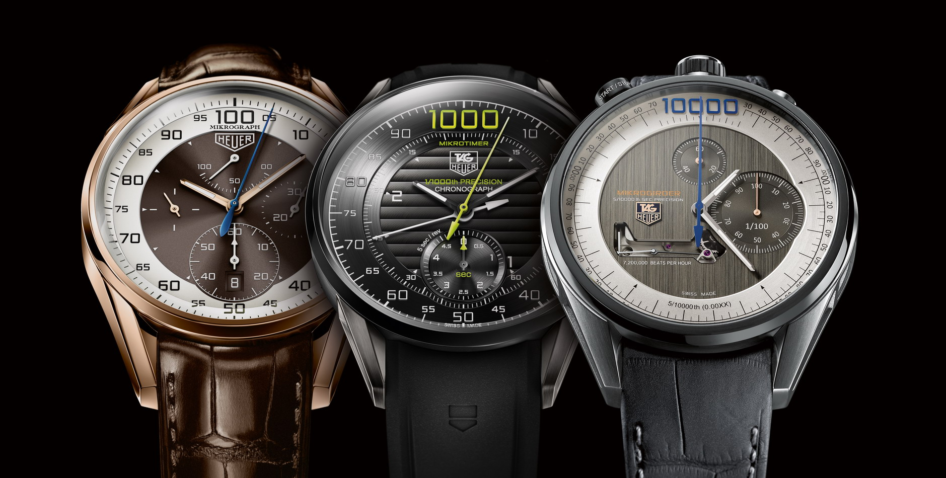 Famille Tag Heuer Chronographe Carrera Mikrograph