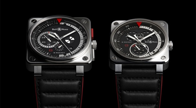 Bell and Ross BR 01 and BR 03 B-Rocket