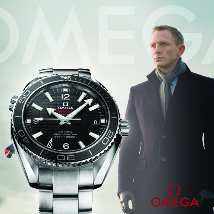 Omega 007 James Bond Seamaster Planet Ocean 600M - édition limitée