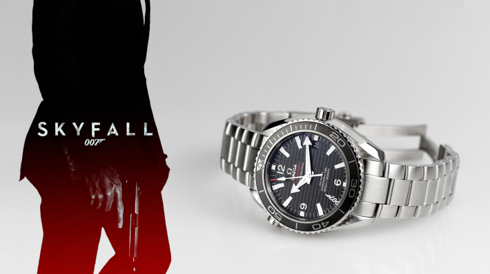 Omega 007 James Bond Seamaster Planet Ocean 600M - édition limitée Skyfall