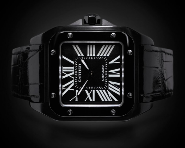 Cartier Santos Black PVD and DLC